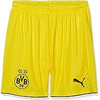 PUMA Kinder Hose BVB Replica Shorts, Pantalones para niños