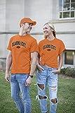 Elite Fan Oklahoma State Cowboys Men's Short Sleeve Arch Tee, Orange, XX Large