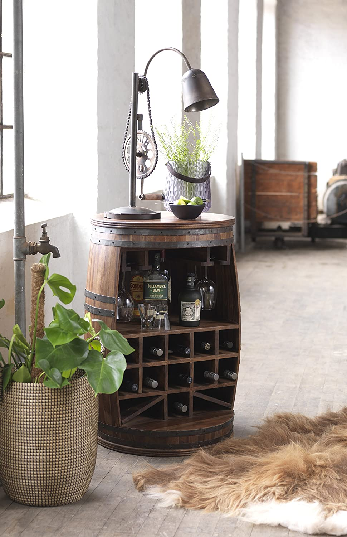 Canett Furniture Rosey Weinfass Weinregal Aus Holz Flaschenregal ...