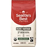 Seattle's Best Coffee 6th Avenue Bistro Fair Trade Organic Dark Roast Ground Coffee, 12-Ounce Bag