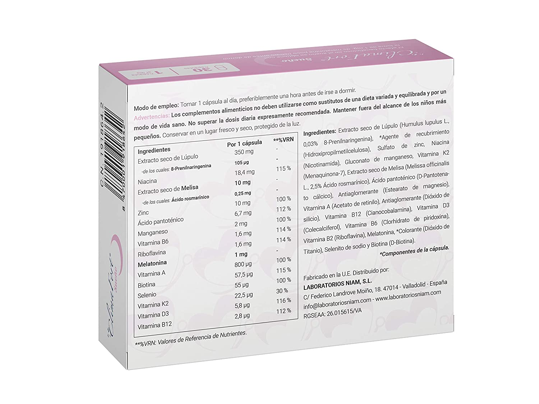 Laboratorios Niam - ClimaFort Sueño, cápsulas menopausia ...