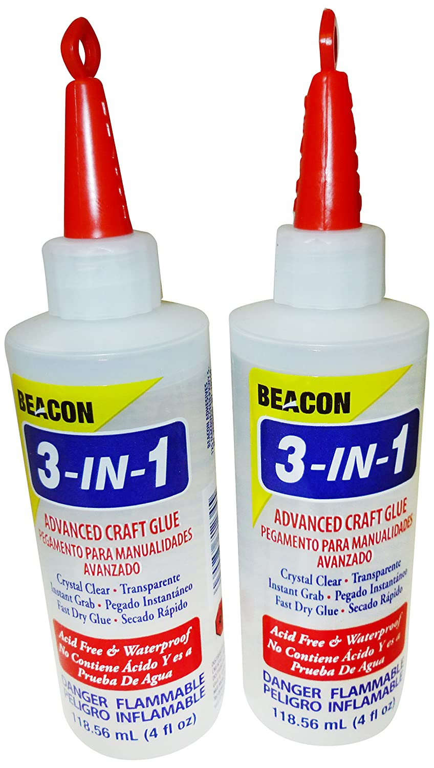 Beacon Adhesives 118 ml 3-in-1 Advanced Craft Glue, Set of 2 314OZDOUBLEUK