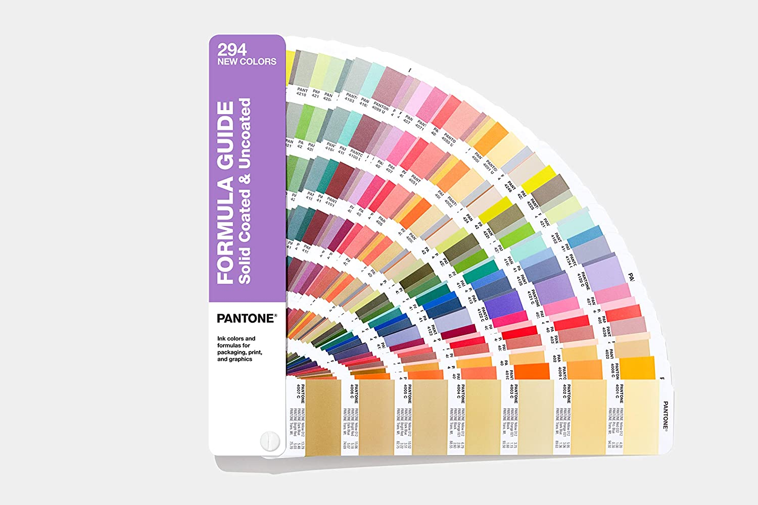 Pantone GP1601A-SUPL Formula Guide Supplement - 2019 Edition
