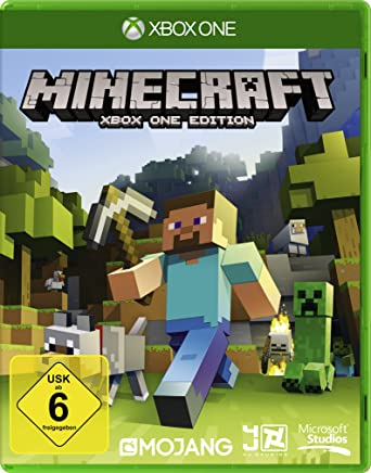 Minecraft Xbox One Edition German Version Amazoncouk PC - Spiele es minecraft