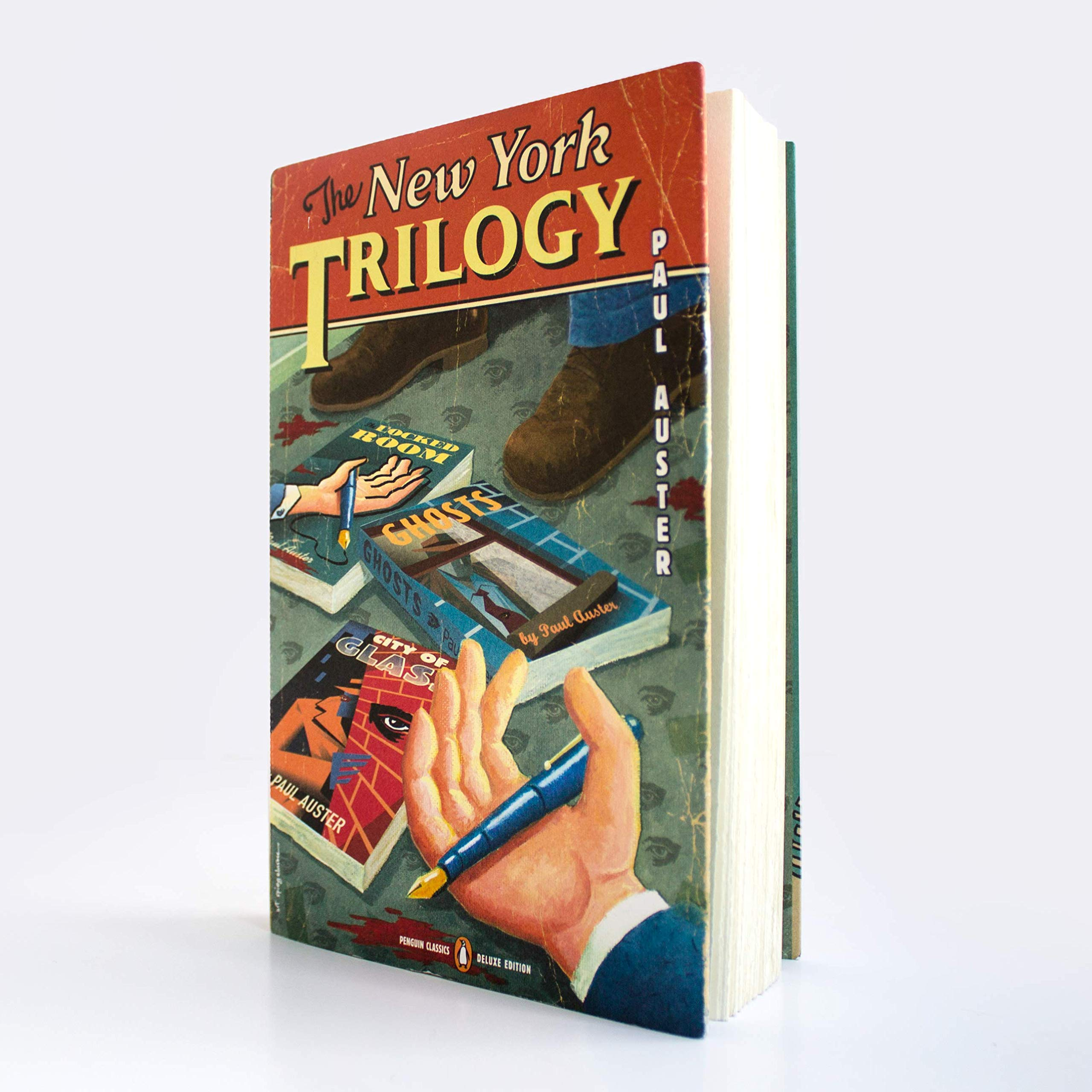 The New York Trilogy: Penguin Classics Deluxe Edition