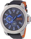BOSS Orange Herren-Armbanduhr XL New York Multieye Analog Quarz Textil 1513013