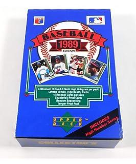 Amazoncom 1989 Upper Deck Baseball Factory Sealed 800 Card Set