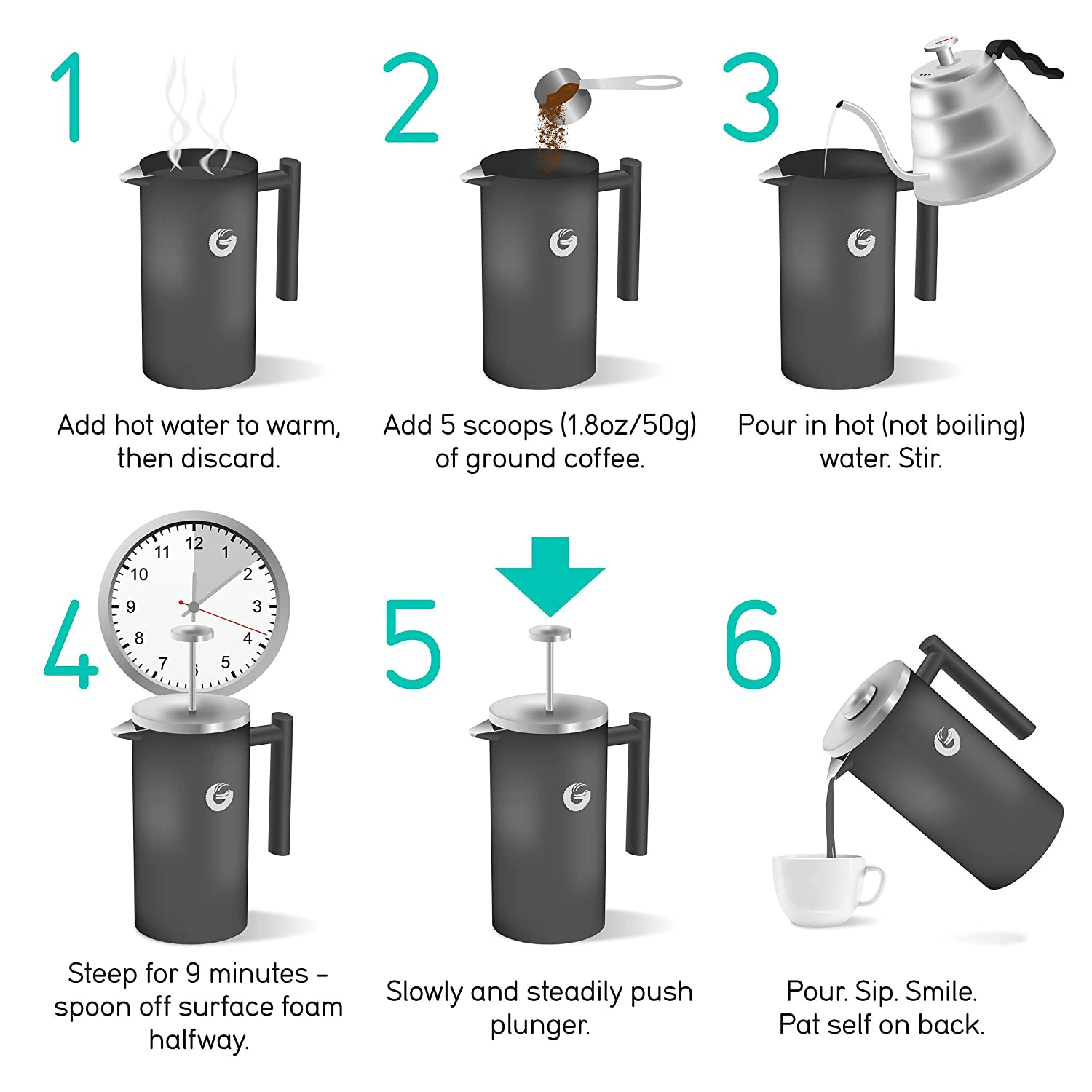 Best French Press Reviews: Making Coffee with Style 7