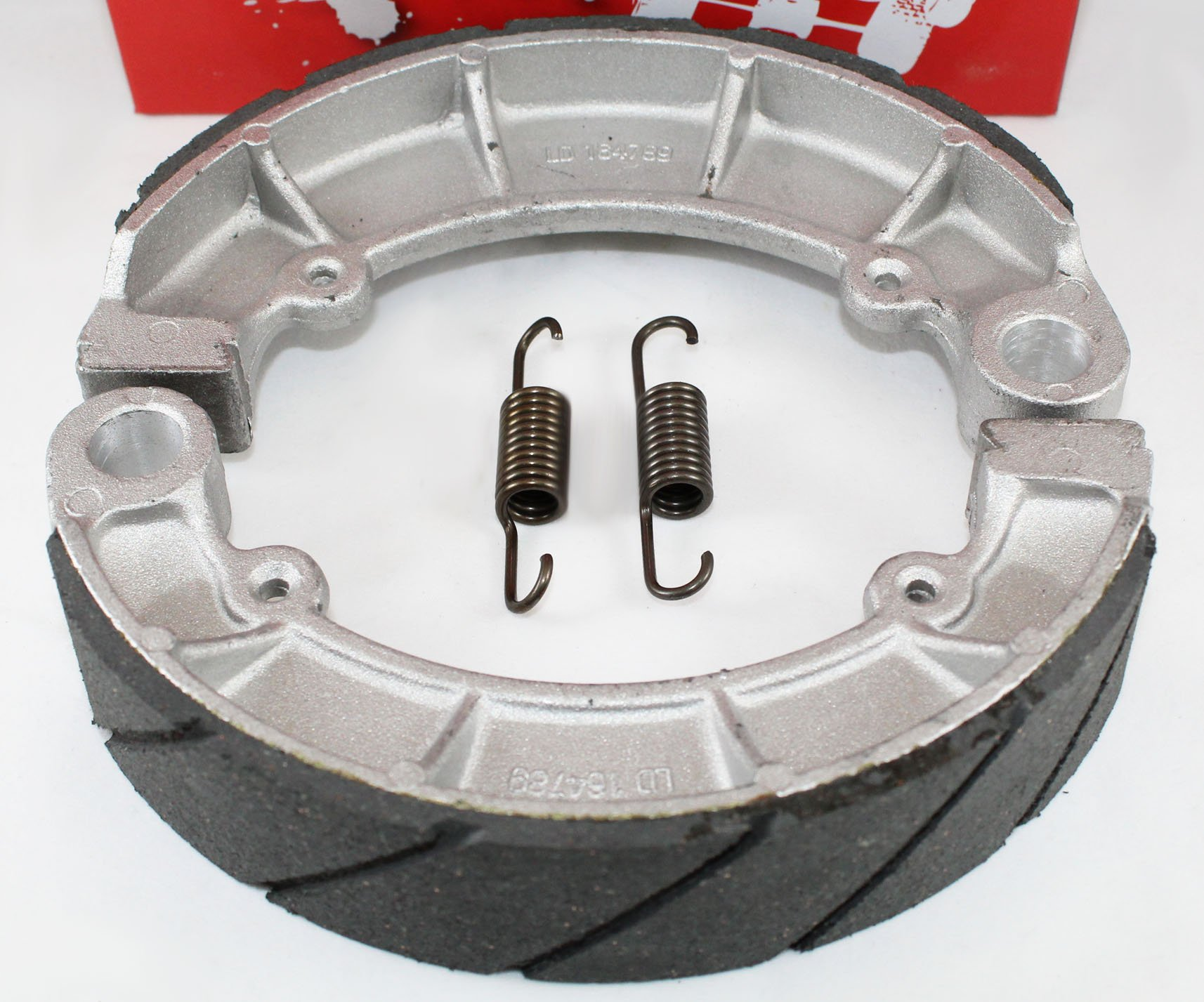 WATER GROOVED REAR BRAKE SHOES & SPRINGS for the Honda 2005-2013 TRX 500 Foreman Rubicon