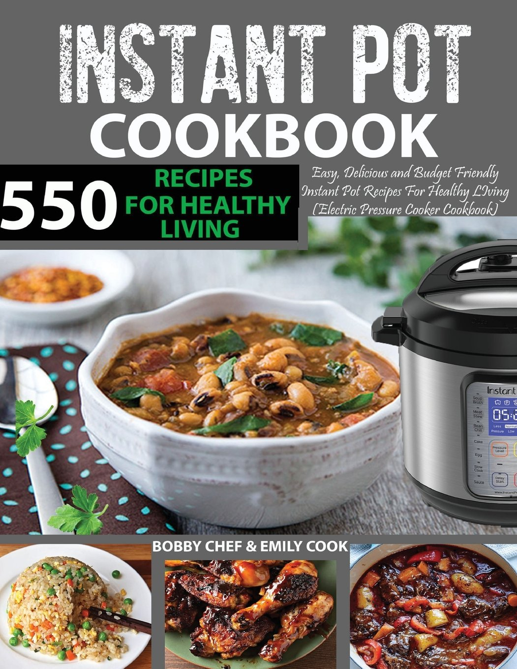 550 Instant Pot Recipes Cookbook: Easy, Delicious and Budget Friendly Instant Pot Recipes for Healthy Living (Electric Pressure Cooker Cookbook) ... Recipes Included) (Instant Pot Cookbook) pdf