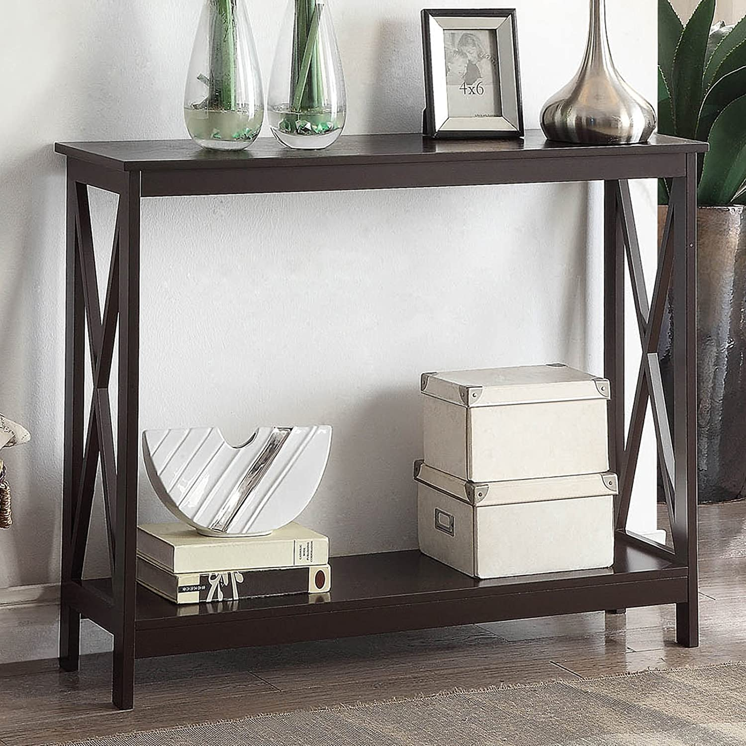 Amazon.com: Console Table, Perfect for Entryway, Living Area ...