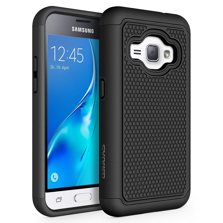 quality design b506b 23784 Galaxy Luna Case, Galaxy Amp 2 Case, Galaxy Express 3 Case, J1 2016 Case,  SYONER [Shockproof] Defender Phone Case Cover for Samsung Galaxy J1 2016 /  ...