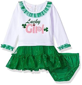 f4c9898f896a Amazon.com  Bonnie Baby Baby Girls Knit Tutu Dress and Panty  Clothing