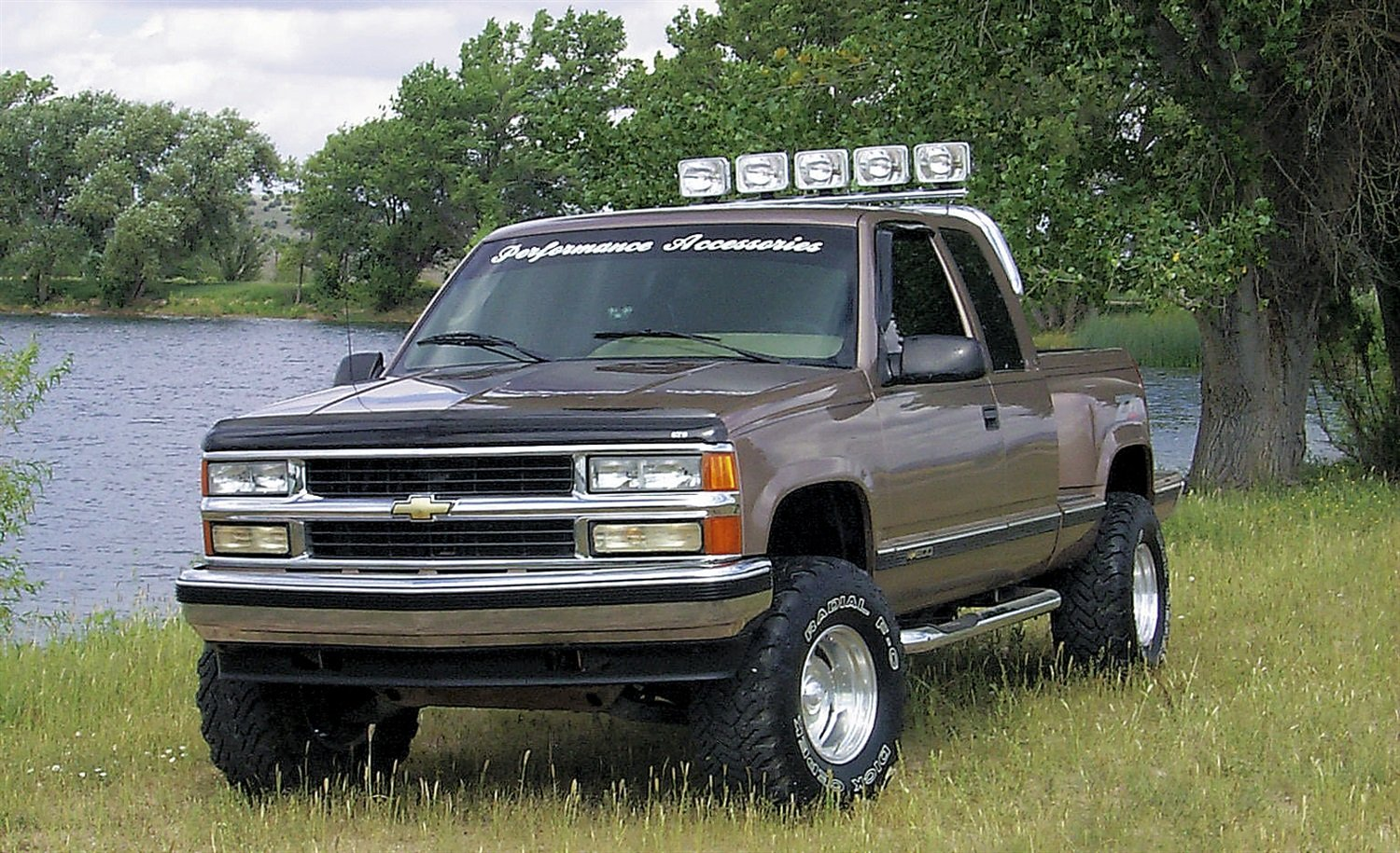All Chevy 97 chevy k1500 parts : Amazon.com: Performance Accessories (113) Body Lift Kit for Chevy ...