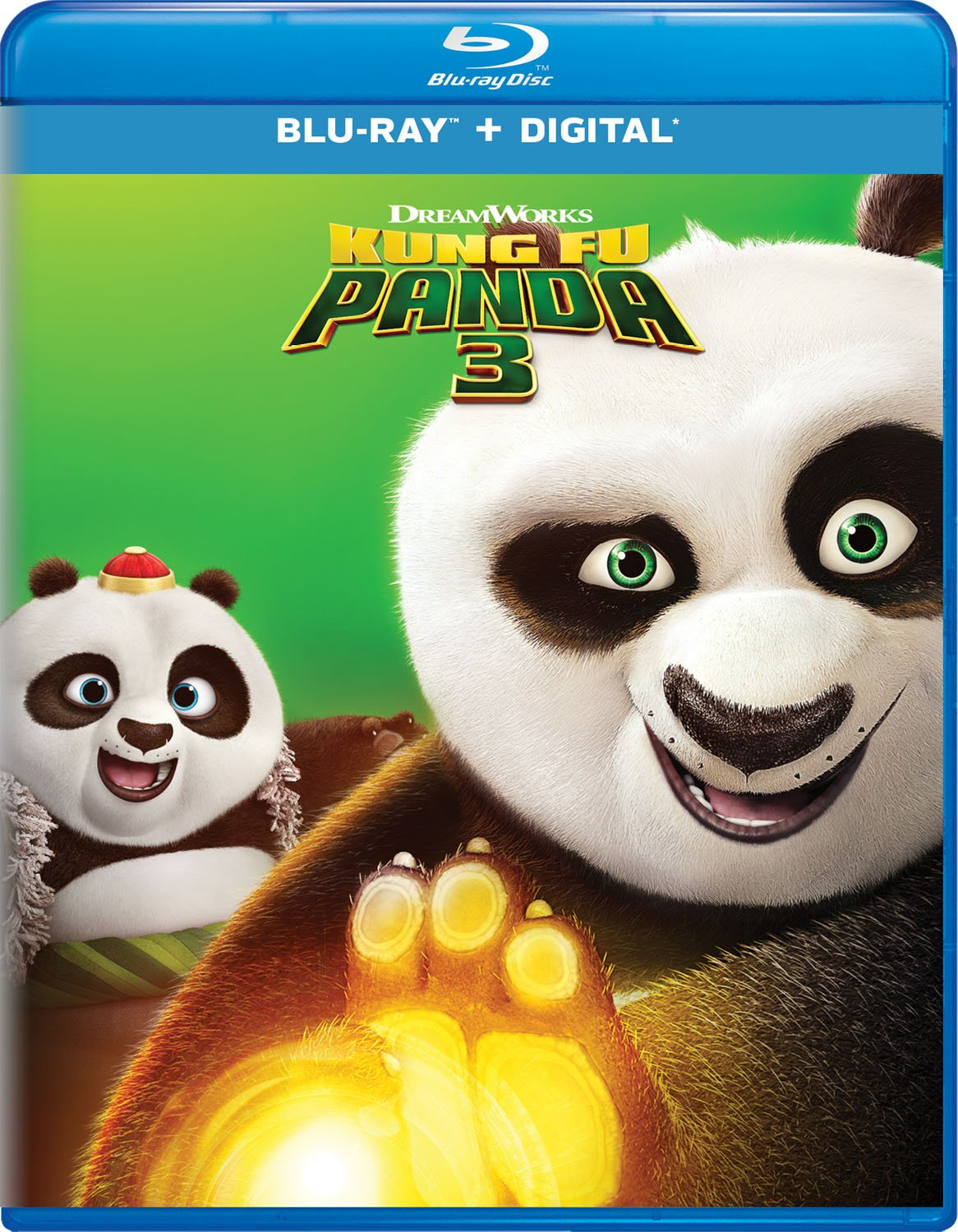 Blu-ray : Kung Fu Panda 3 (Digital Copy)