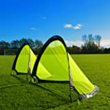 Forza Flash Pop Up Soccer Goal - Ultimate PRO Portable Soccer Goals With Carry Bag - Available In 2.5ft, 4ft & 6ft - [Net World Sports]