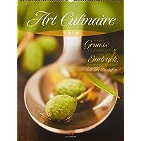 Art Culinaire 2019, Wandkalender mit Zitaten im Hochformat (50x66 cm) - Lifestyle-Kalender für Küche und kulinarische Gourmets mit Monatskalendarium