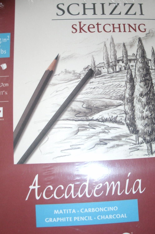 Fabriano 41202942 Zeichenblock, Baumwolle, weiß, 29.7 x 42 x 0.5 cm weiß