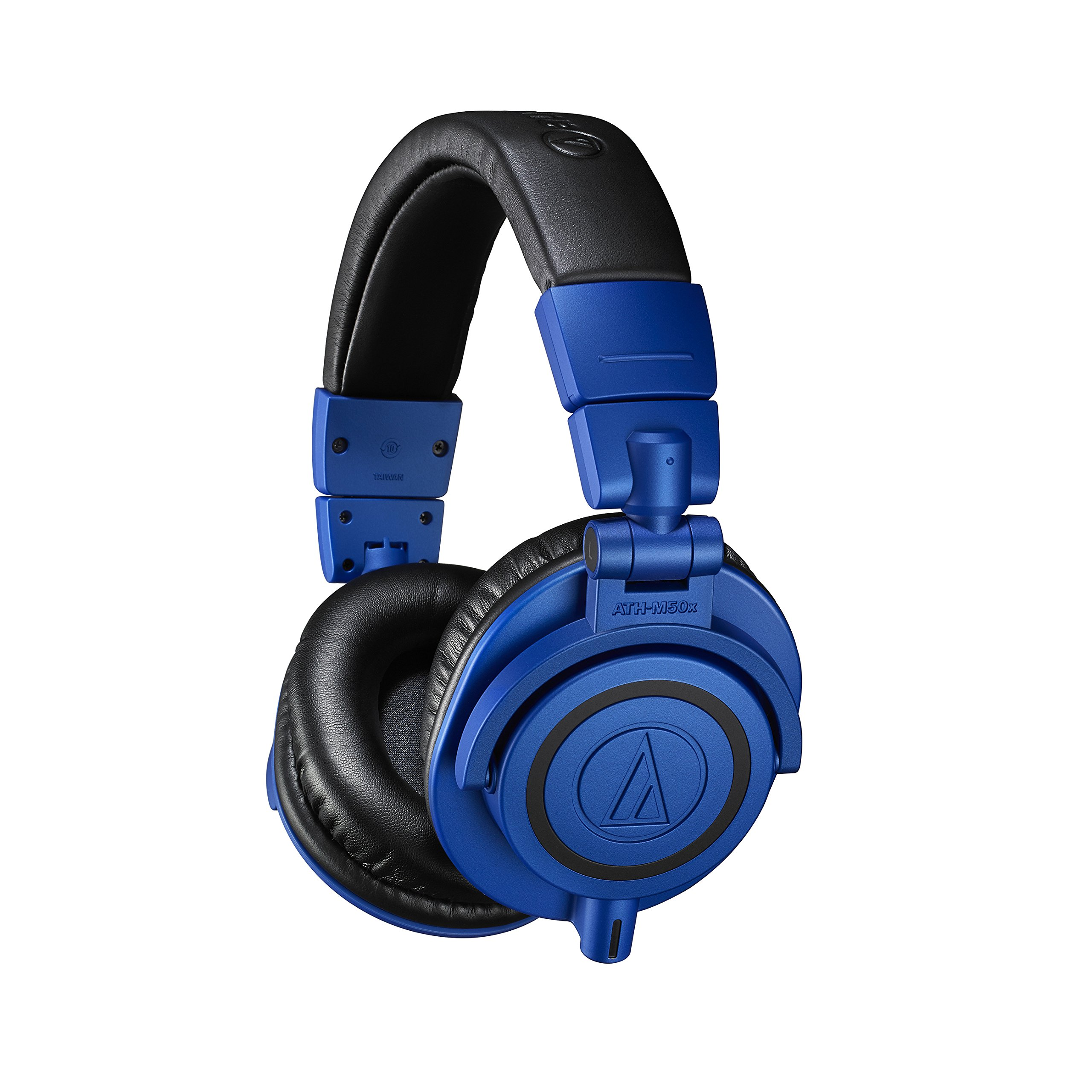 Audio Technica ATH-M50xBB Professional Monitor Headphones, Blue & Black