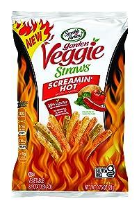 Sensible Portions Veggie Straws, Screamin Hot, 24 Count