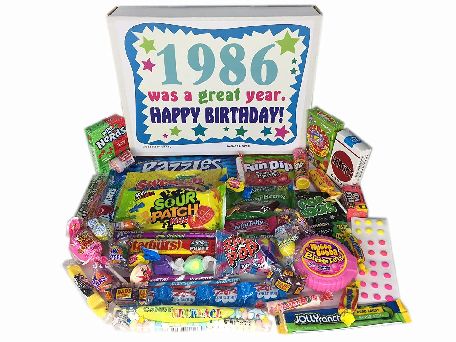 70OFF 1986 31st Birthday Gift Box Of Retro Nostalgic Candy Decade 80s For A