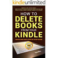 How to Delete Books from Your Kindle: Quick and Easy Step-by-Step Guide How do I Set Up My Kindle, How to Delete Books from My Kindle Device and How to ... Kindle Library , Fire HD , Iphone , Ipad 1)