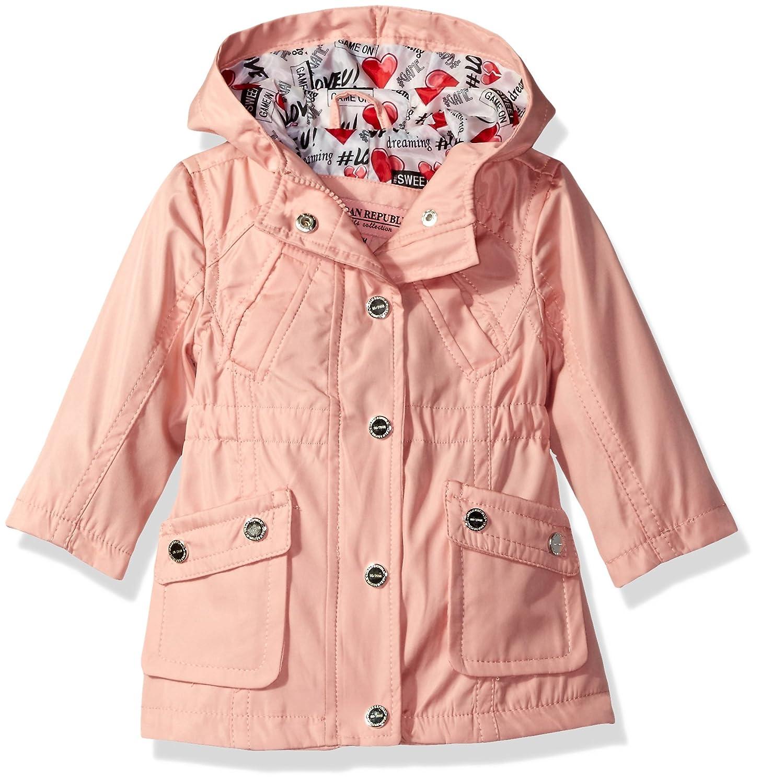 703800d6f03e Amazon.com  Urban Republic Girls  Cute Trench Coat 1