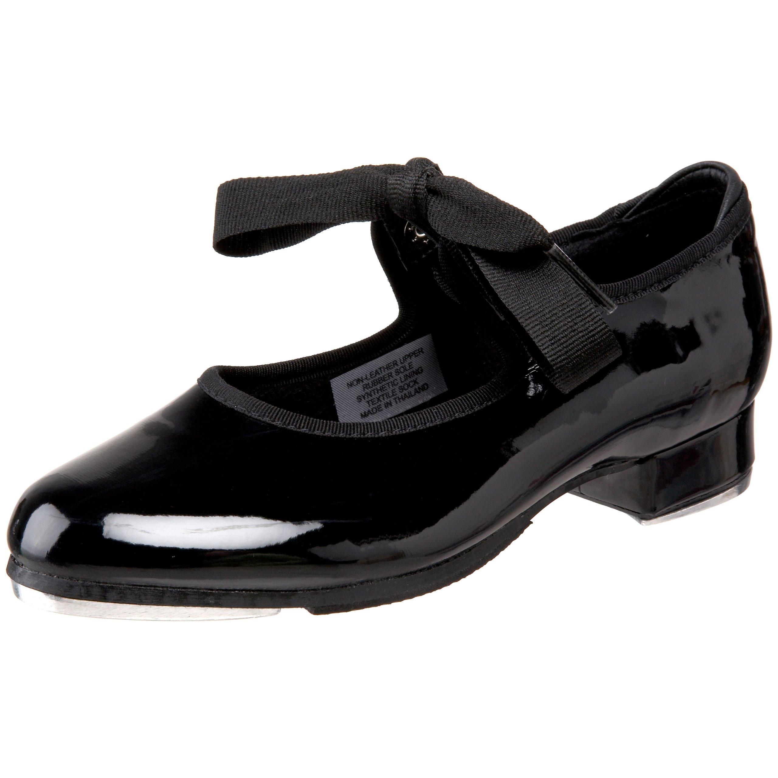 Bloch Dance Annie Tyette Tap Shoe (Toddler/Little Kid/Big Kid),Black Patent,12.5 M US Little Kid