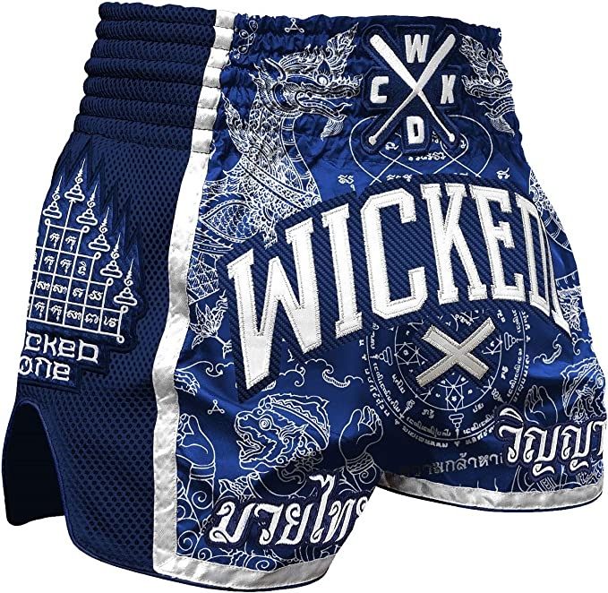 Wicked One Muay Thai /& Kickbox Camo Short de tha/ï pour homme
