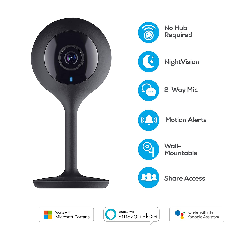 Smart Surge Protector Microsoft Cortana Geeni Wi-Fi Smart Home Security Kit No Hub Required Google Assistant Smart Light Bulbs Smart 1080p Hd Security Camera Works Alexa