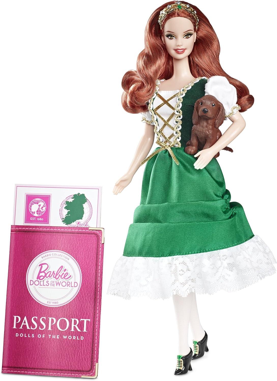 Amazon.es: Barbie - Muñecas del Mundo: Irlanda (Mattel W3440 ...