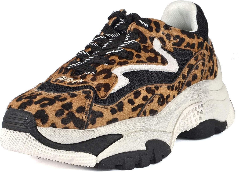 Ash Addict TER Sneakers Cheetah Print