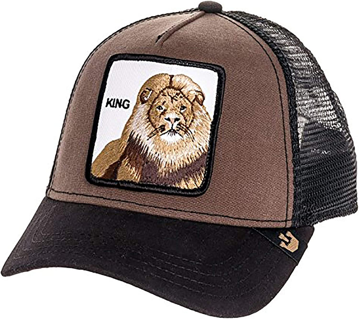 Goorin Bros. King Gorra Trucker marrón: Amazon.es: Ropa y accesorios