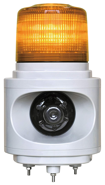 NIKKEI 音声合成報知器 音声報知器 100V 黄 人感センサー付 1.9kg VL12V-100AY/J2 B07B6HGGH3