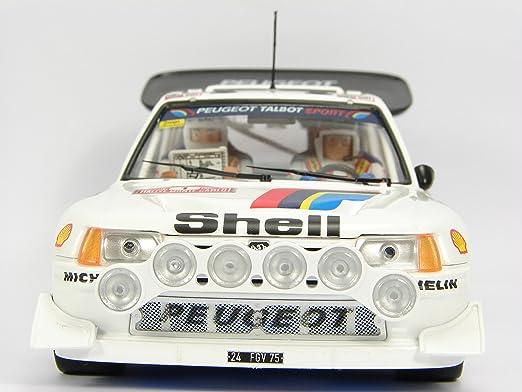 Peugeot 205 T16 EVO2 Rally Montecarlo 1986 Timo Salonen - S. Harjanne: Amazon.es: Juguetes y juegos