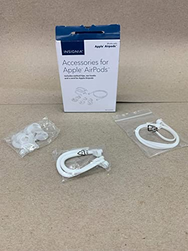 Insignia Accessories for Apple AirPods, White