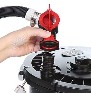 Aqua stop valves