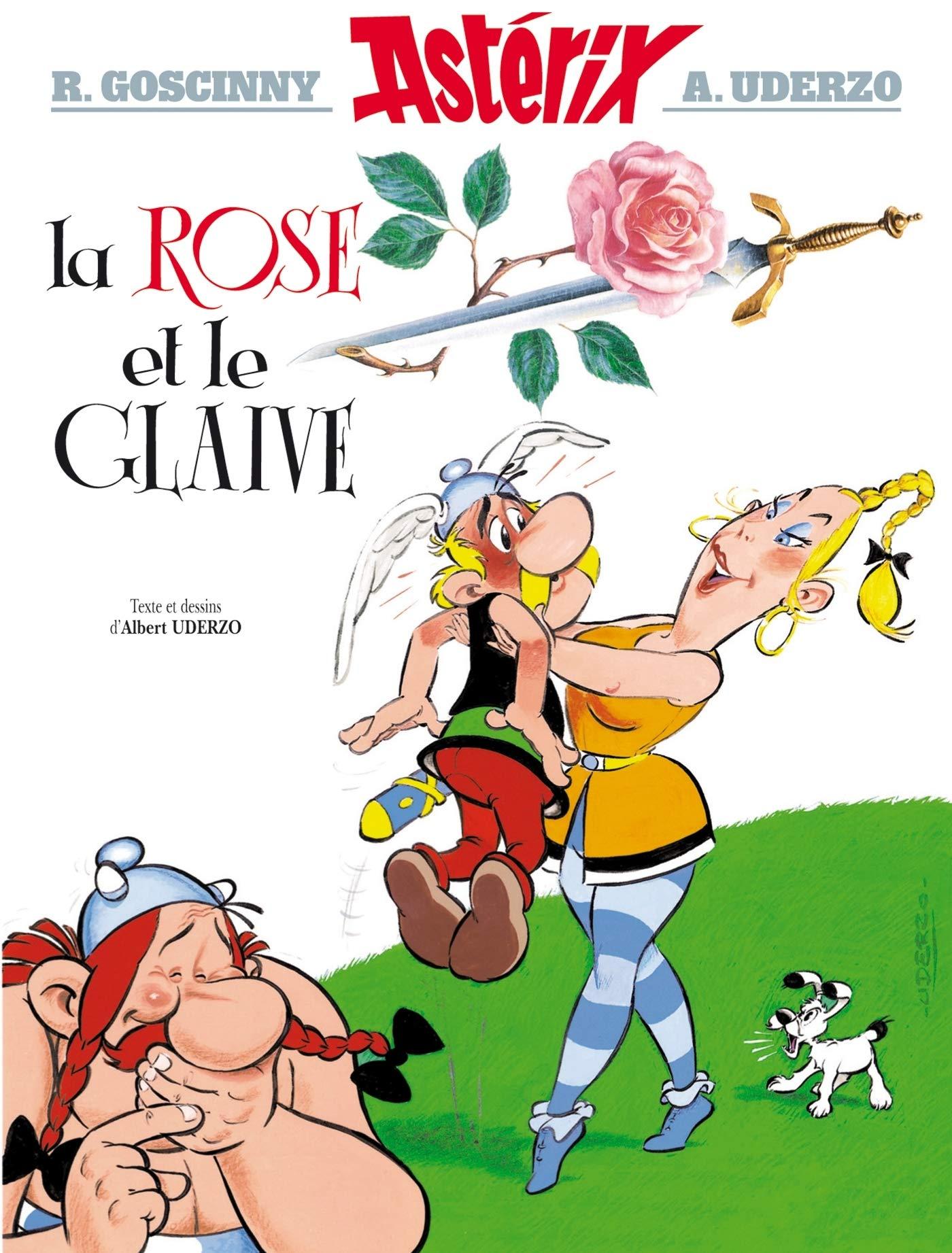 Asterix 29  La Rose Et Le Glaive  Francés