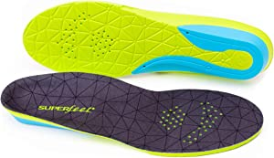 Superfeet FLEXmax, Comfort Insoles for Roomy Athletic Shoe Maximum Cushion and Support, Unisex, Emerald