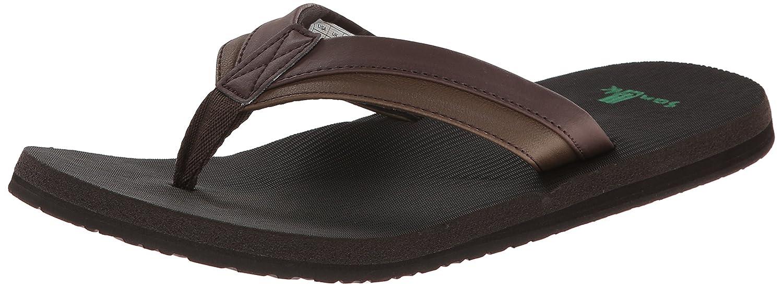 Diseño de sandalias para hombre Sanuk Beer Cozy Light marrón oscuro 41 EU|Marrón - Marrón Oscuro
