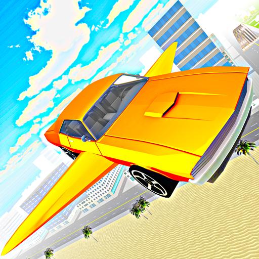 Flying Car Futuristic Simulator Free Pilot Driving