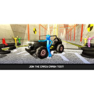 Stickman Simulator Crash Test Dismount 3D: Brake Car Falling Dummy | Crashing and Testing Game: Amazon.es: Appstore para Android