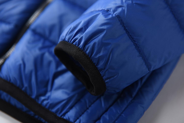 M2C Boys Hoodie Lightweight Windproof Puffer Duck Down Jacket