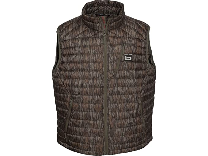 975df25c3fb98 Banded Agassiz Goose Down Vest, Color Bottomland, Size: Small (1691)