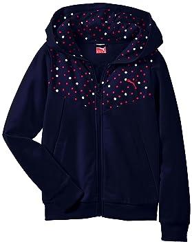 Puma Esquí Jacket Niña Style Chaqueta G De Icon Sweat Jacke Para n4xRqn