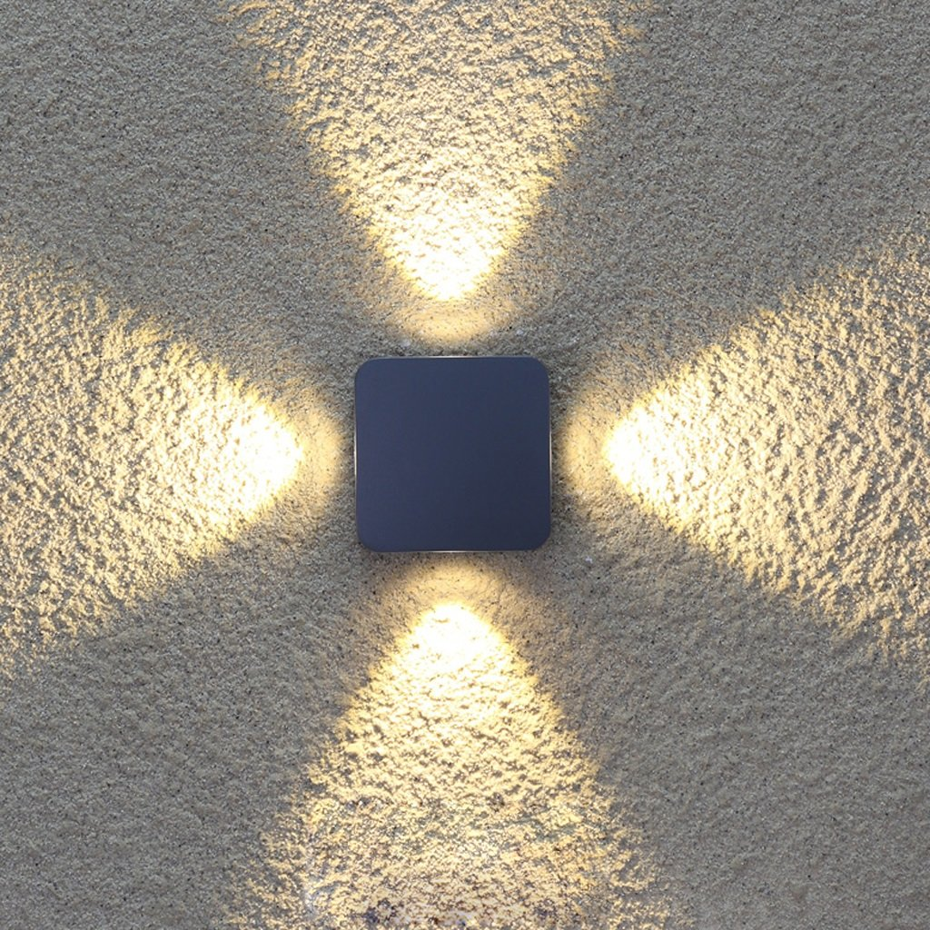 Outdoor Wall Lamp/ Hotel Exterior LED Waterproof Wall Light / Terrace Balcony Garden Light / Symmetric Spotlight