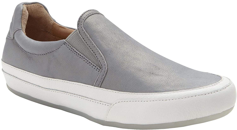 Vionic Women's April Slip On Shoe B0721DBQ8D 9.5 B(M) US|Grey Metallic