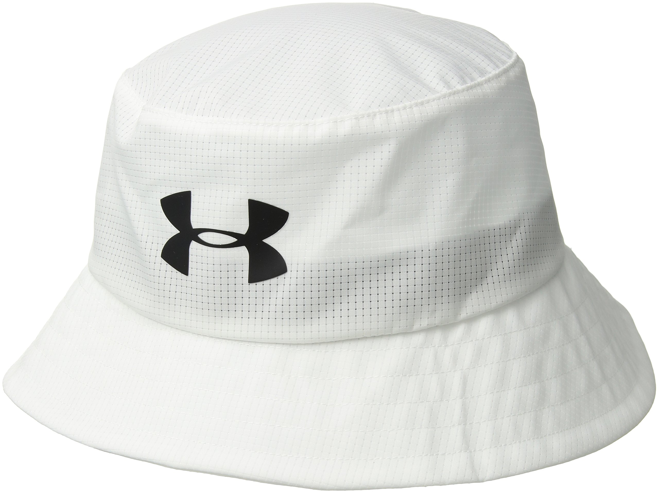 Under Armour Men's Storm Golf Bucket Hat, White (101)/Black, Large