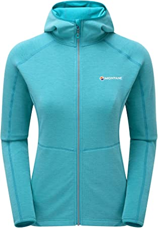 Montane Womens Viper Hoodie Blue Ridge (UK12/US10/EUR38)