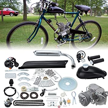 80cc OR 49CC GAS BIKE  GAS TANK MOUNT UP KIT BIg frame bike or standard size one